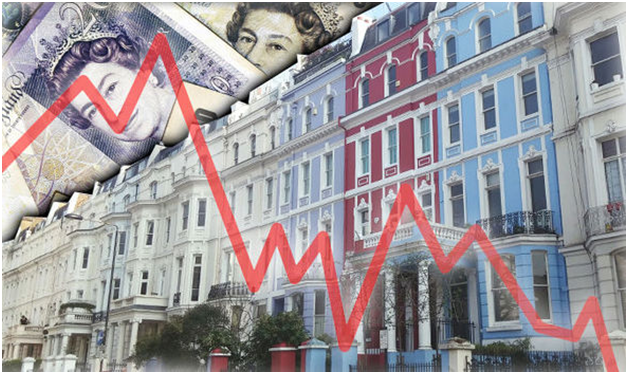 London's house prices continue to drop