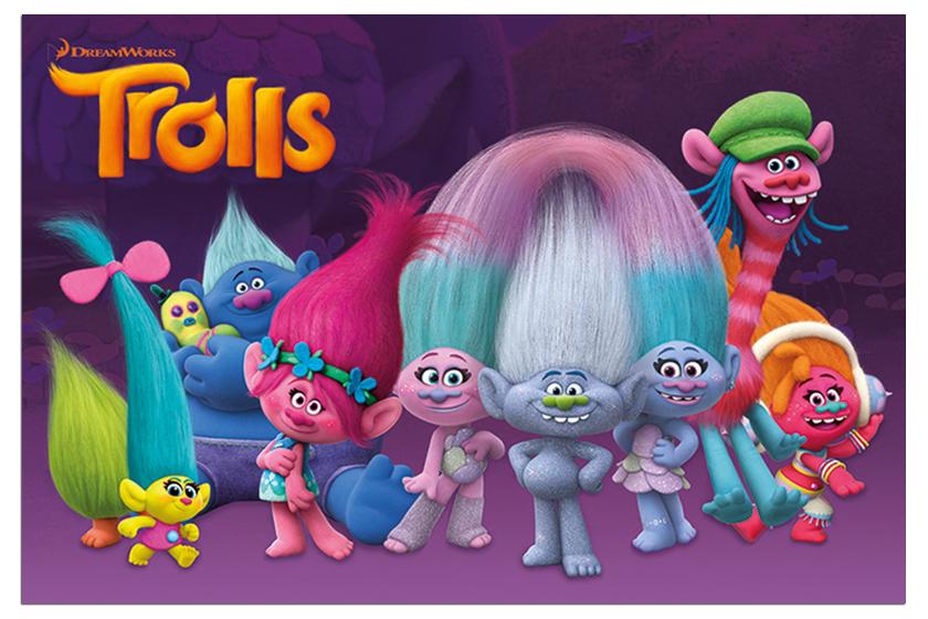 Review Filem Animasi Trolls Diana Rashid