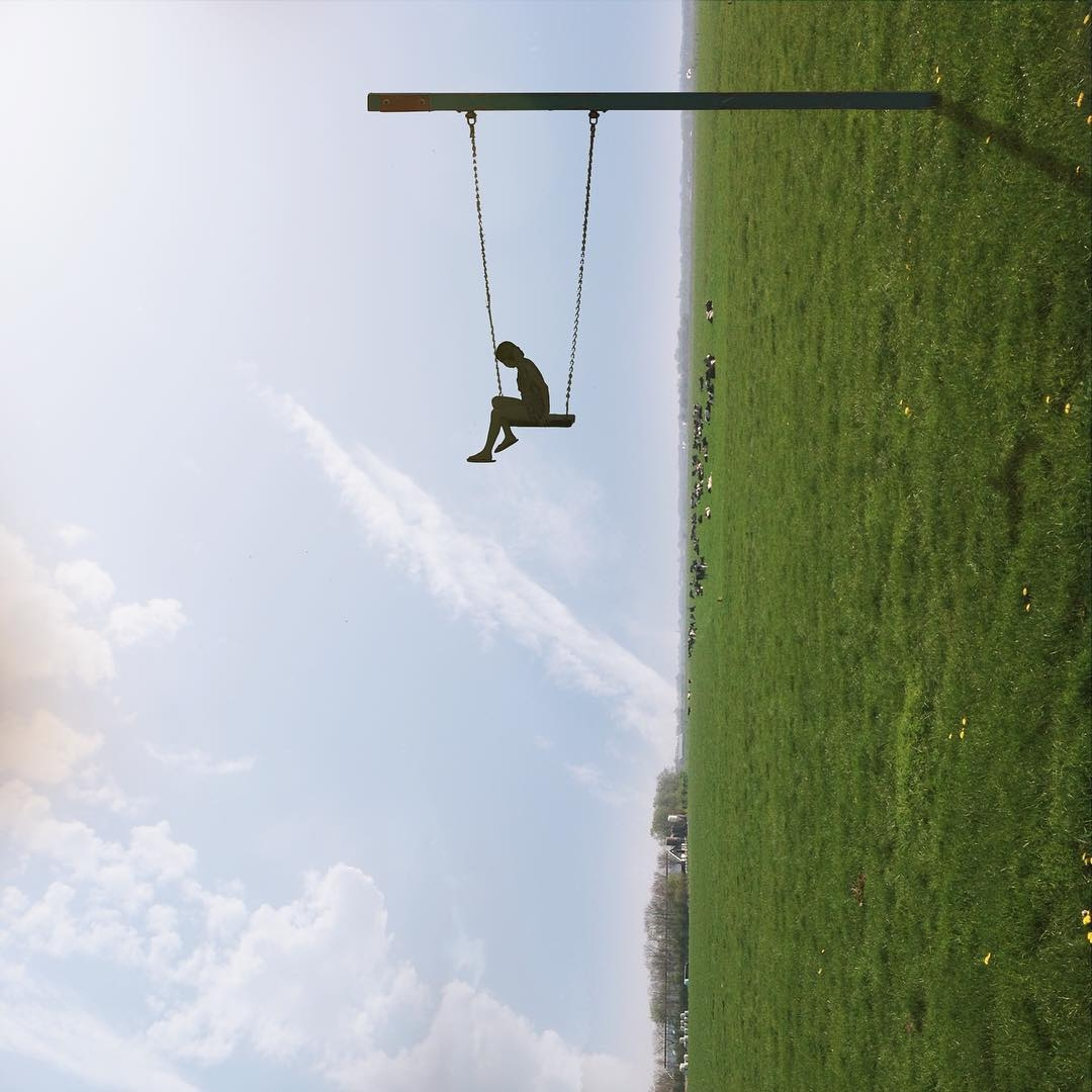 09-Horizontal-Swing-Laurent-Rosset-Surreal-Photo-Manipulations-of-the-World-Around-Us-www-designstack-co