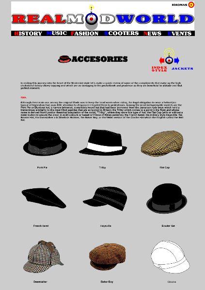 Headstart Hats  Mod Hat and Cap Guide 40e5109605db