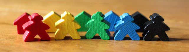 Carcassonne: Over Hill and Dale meeples