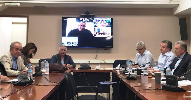 Συνάντηση Συντονιστών Αποκεντρωμένων Διοικήσεων  με το ΔΣ της Ένωσης Περιφερειών Ελλάδας (ΕΝΠΕ)