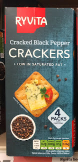Ryvita Crackers Cracked Black Pepper