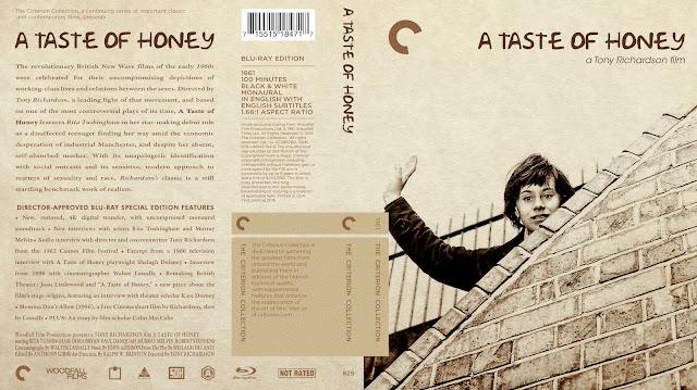 A Taste of Honey Bluray Cover