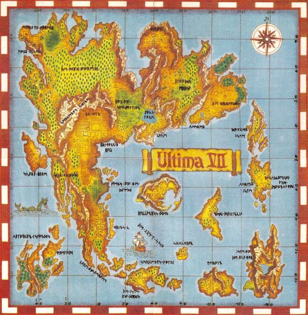 Mapa Ultima VII