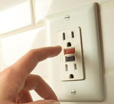 Instalaciones eléctricas residenciales - Contacto GFCI