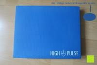 Erfahrungsbericht: High Pulse Balance Pad – Die gelenkschonende Koordinationsmatte zum Training von Gleichgewicht und Stabilität sowie zur Therapie nach Muskelverletzungen (Blau)