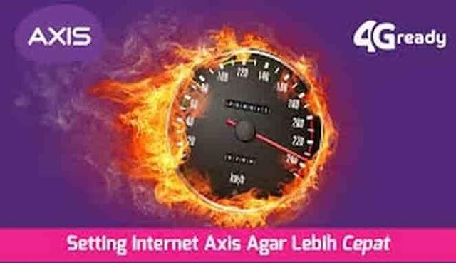 mengatasi internet axis lambat