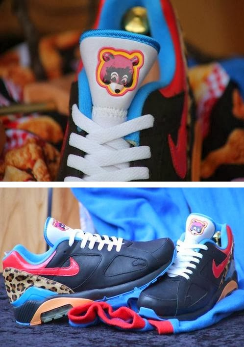 9002dd2e87f12 THE SNEAKER ADDICT  Rare Kanye West x Nike Air 180 Sneaker Spotted ...