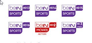 تردد بي ان سبورت beIN sports HD 2019 على جميع الأقمار