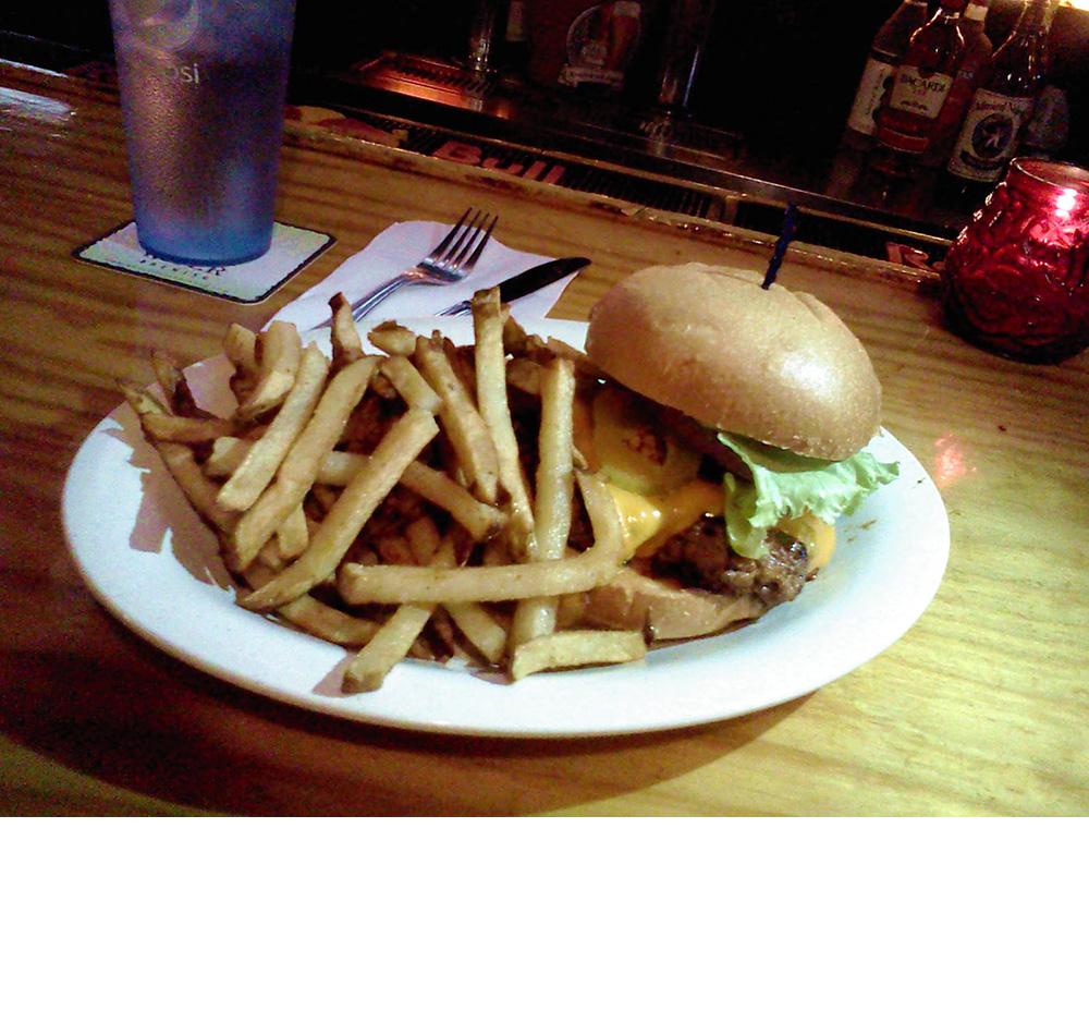 Holy Smoke! Burger by Kooky Canuck