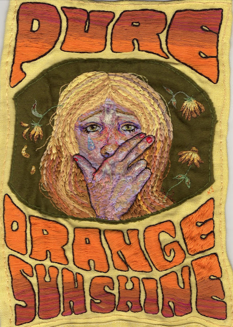 Pure Orange Sunshine by Kjersti Faret