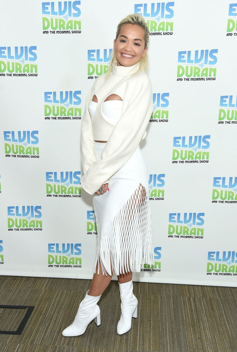 "Rita Ora At ""The Elvis Duran Z100 Morning Show"" in New York City - 01/17/2019"