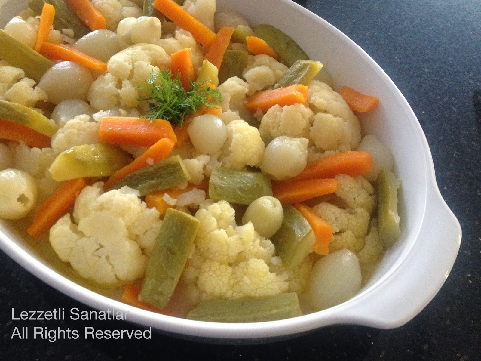 Havuçlu Karnabahar Yemeği Tarifi – Sebze Yemekleri