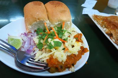 Ananda Bhavan, cheese pav bhaji