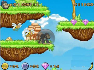 金剛傳奇(Die Legende Kongo King),輕鬆愉快又耐玩的動作遊戲!