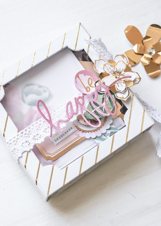 Wanderlust Accordion Box ~ Minc Series by Jamie Pate | @jamiepate for @heidiswapp