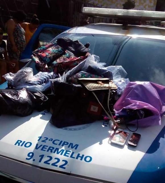 12ª CIPM detém assaltante após perseguição