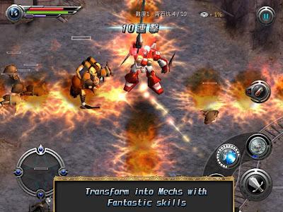 M2: War of Myth Mech v1.0.7 Mod Apk (Infinite Health)