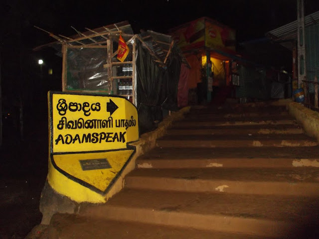 Two Youths Deface Adam's Peak signage