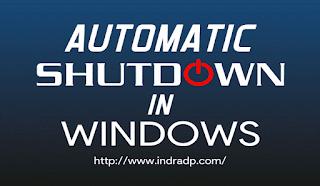 2 Cara Membuat Shutdown Otomatis Di Windows
