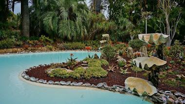 Lotusland, un jardín extravagante como su creadora