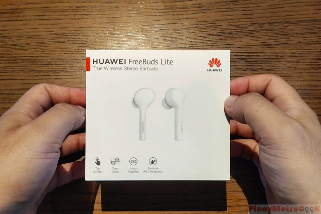 Huawei FreeBuds Lite Unboxing, Initial Set-up