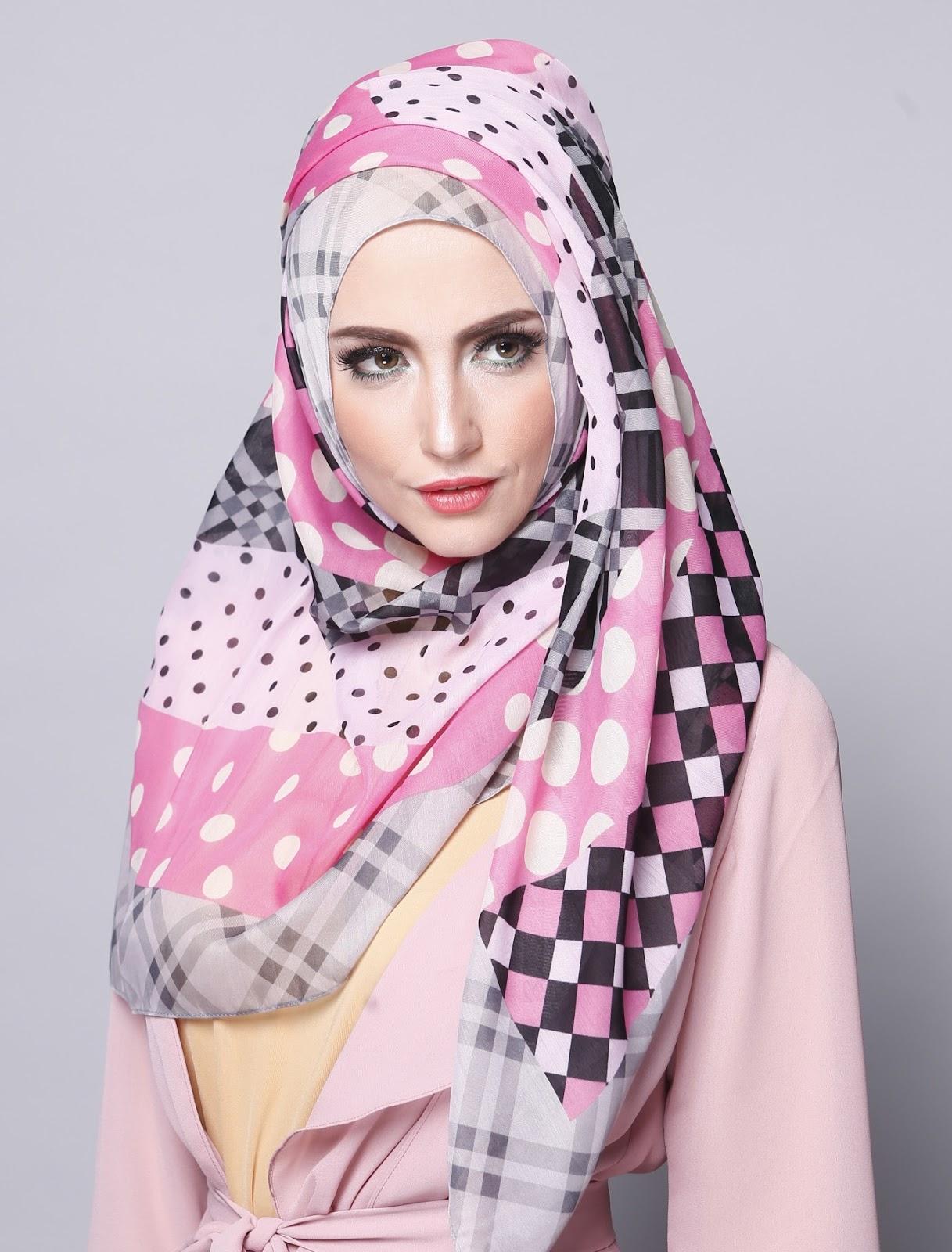 84 Ide Tutorial Jilbab Segi Empat Lebaran Paling Baru Tutorial Hijab Terbaru