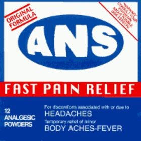 <center>All Normal Society - Fast Pain Relief (1998)</center>