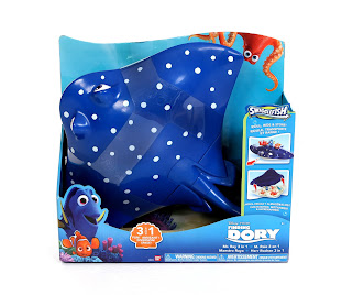 finding dory swigglefish mr. ray case playset