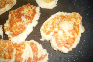 Fried Mashed Potatoes, just like Grandma use to make.