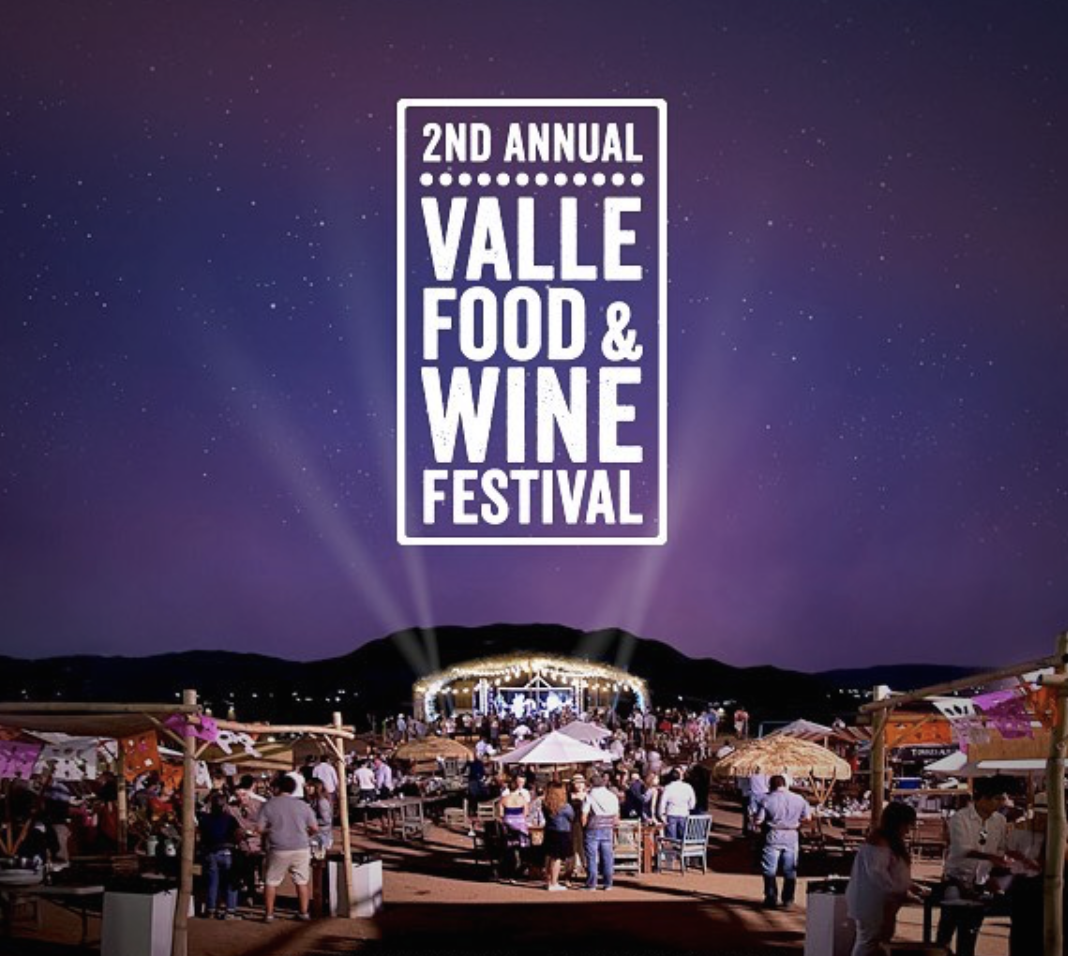 Save 15% On Passes To The 2nd Annual Valle Food & Wine Festival - October 5-7!