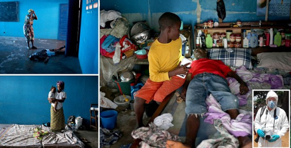 Heartbreaking Pics From Liberia As Country Battles Spreading Ebola Epidermic