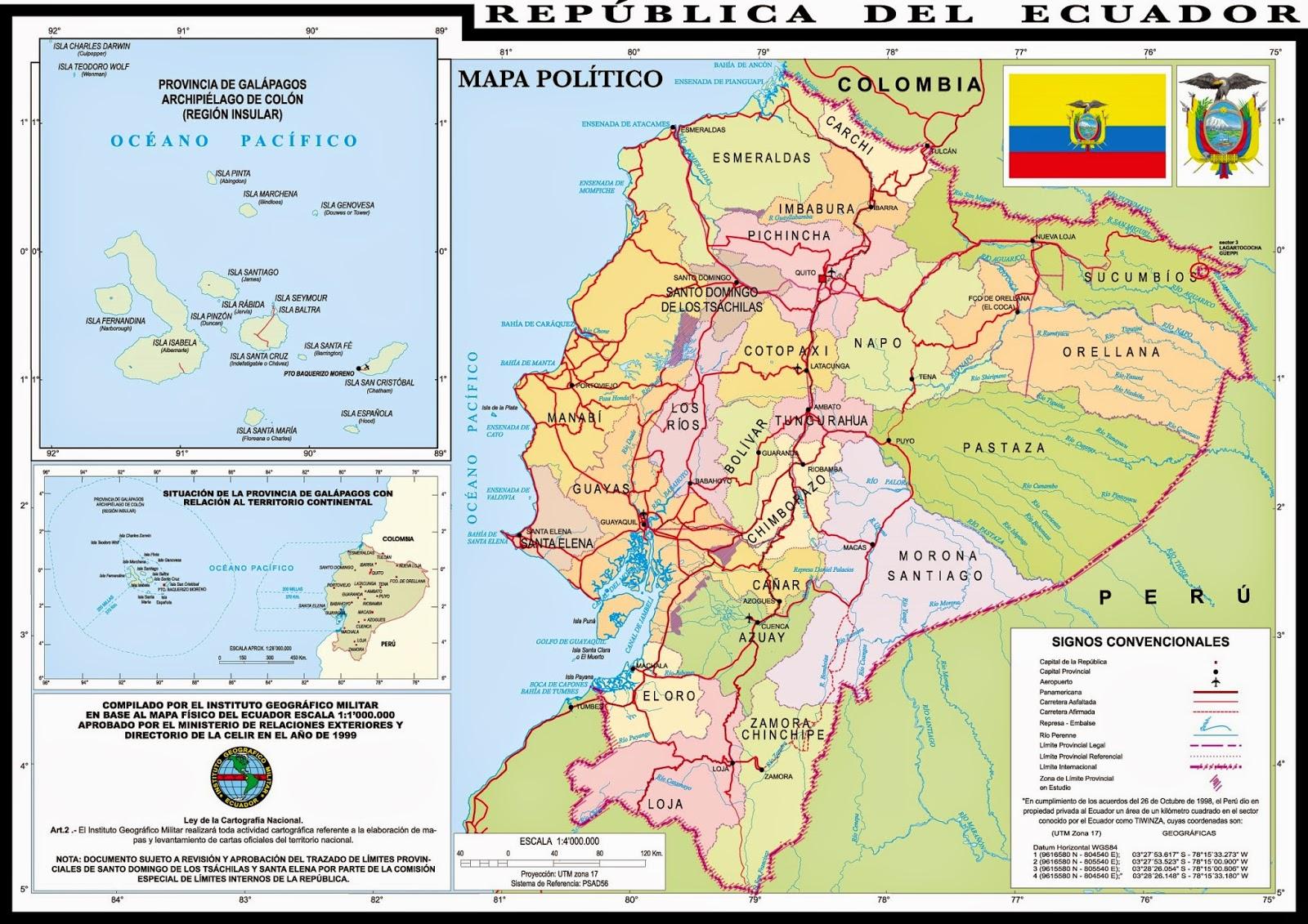 Mapa de ecuador en hd ecuador noticias noticias de for Planos mobiliario escolar peru