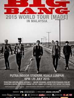 Di Malaysia, Tiket Konser Big Bang Nyaris Ludes