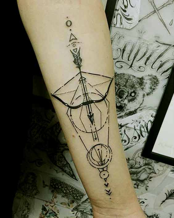55 Best Sagittarius Tattoos Designs And Ideas With Meanings