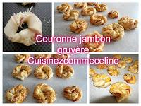https://cuisinezcommeceline.blogspot.fr/2016/09/couronne-feuilletee-jambon-gruyere.html