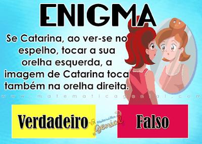 Enigma: Catarina e o espelho