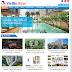 Thiết kế website bất động sản bằng wordpress viettinreal.com.vn