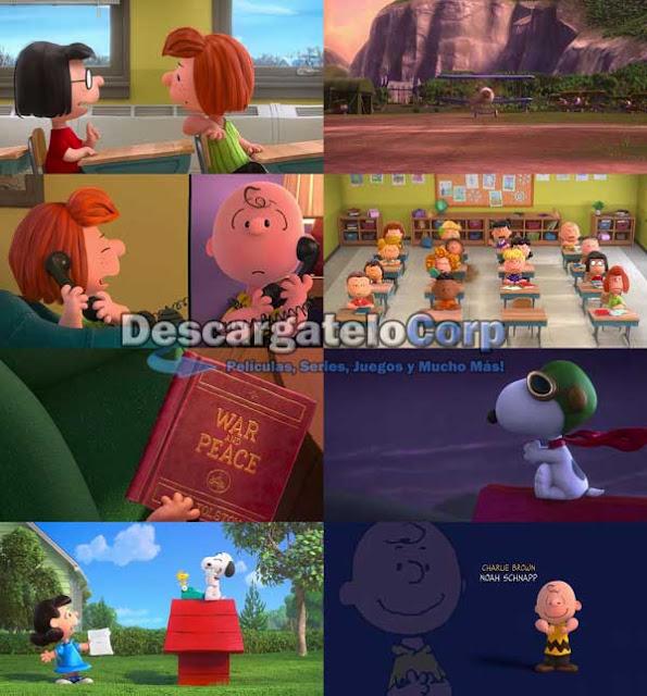 Snoopy y Charlie Brown Peanuts la Película DVDRip Latino