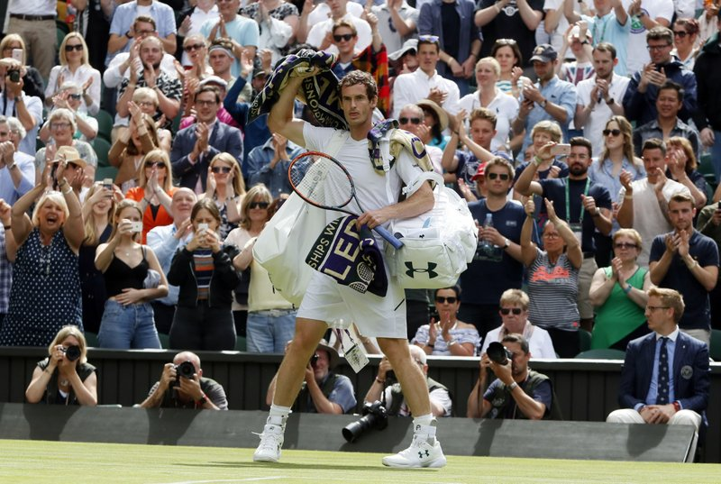 Andy Murray Nagging Injury Couldn't Slow him Down, as he wins Emphatically  With a 6-1, 6-4, 6-2 over Alexander Bublik