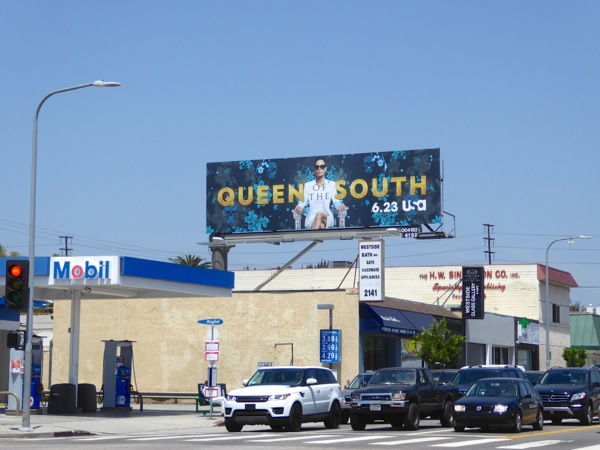 Queen of the South series launch billboard
