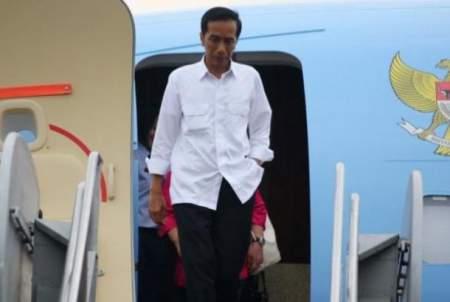 Presiden Indonesia Joko Widodo tidak suka pakai jam tangan