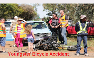 Youngster Bicycle Accident