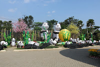 lampion panda