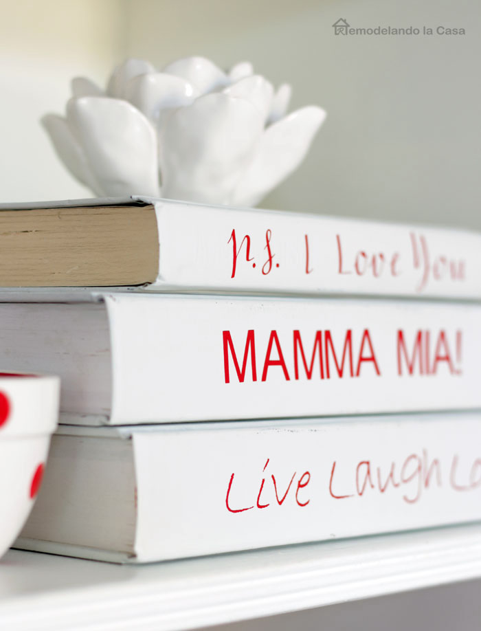 P.s. I love you, Mamma Mia, Live Laugh Love