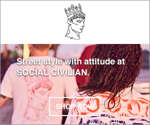 Social Civilian is a unisex street wear line aimed at pushing the boundaries of masculinity and femininity through questioning and challenging gender stereotypes.