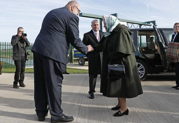 Queen Elizabeth opened a newly rebuilt facility 72 years after her father, King George VI, opened the original station