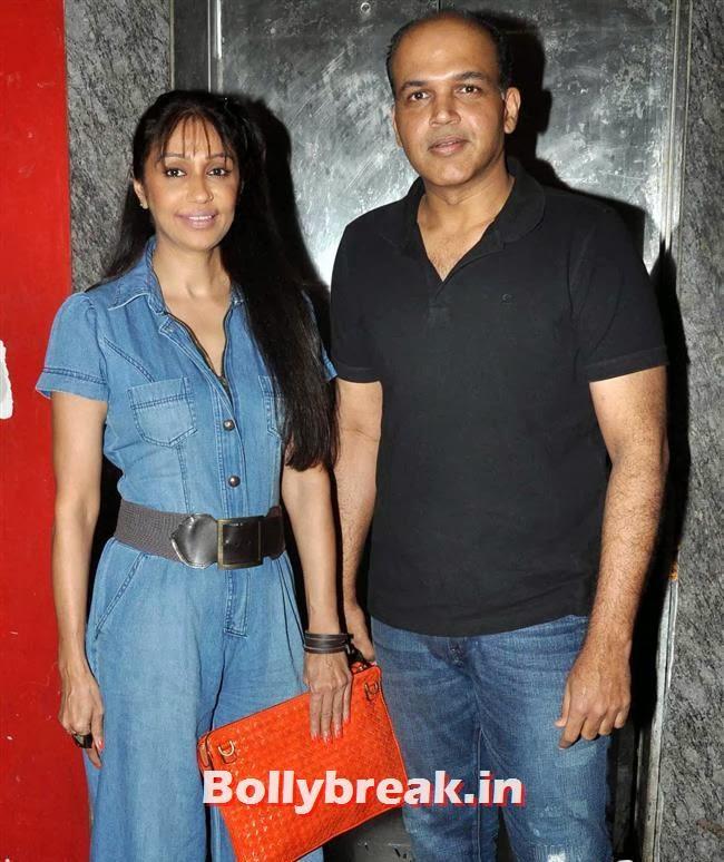 Sunita and Ashutosh Gowariker, Krrish 3 Special Screening