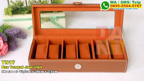 Box Tempat Jam Vinil